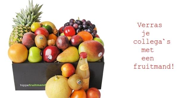 WIn een fruitmand