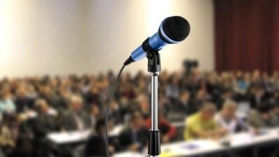 Stemgebruik tijdens een presentatie