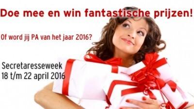 Join the grootste secretaresseclub van NL en Win!