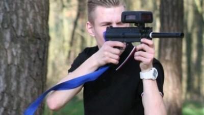Groepsuitje op de Veluwe – Outdoor lasergame met buffet