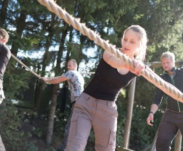 Uitdagend teamweekend met challenge parcour op de Veluwe